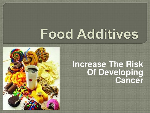 Increase The Risk Of Developing Cancer