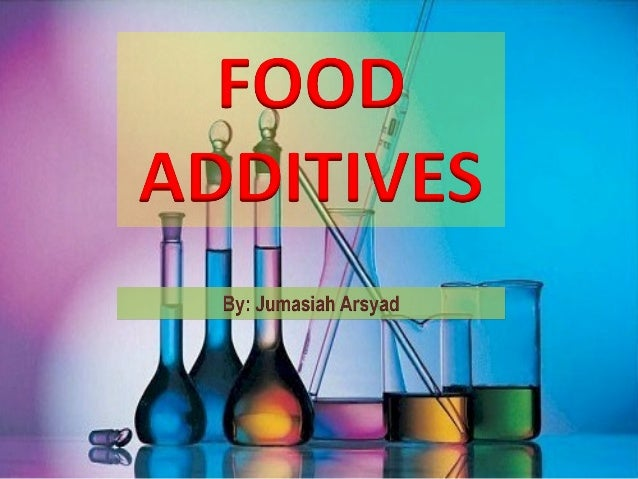 A food additive is any substance that is added to food to preserve it or improve its flavour and appearance.