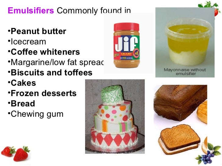 Examples Of Natural Emulsifiers In Food