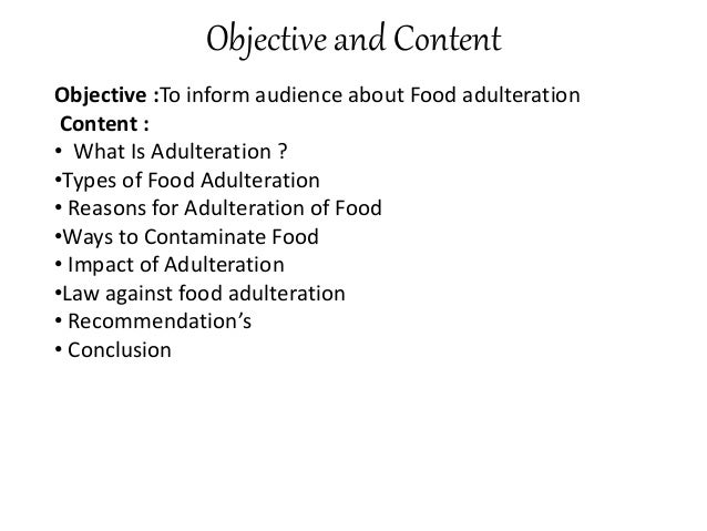 food adulteration in bangladesh Food safety: a study on policy framework of protecting food adulteration in bangladesh ijisbt, 1,  a study on policy framework of protecting food adulteration in.