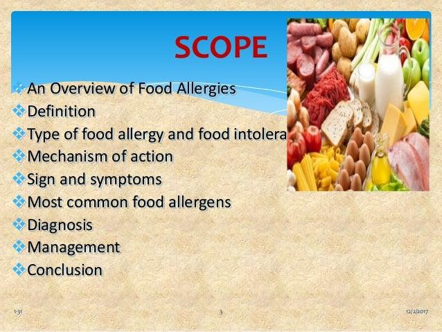 Food allergies and food intolerances ppt Slide 3