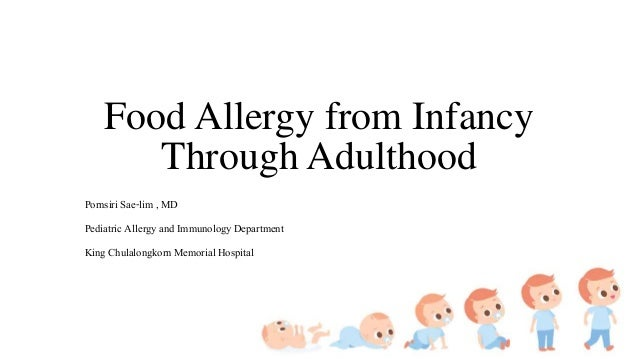 Food Allergy from Infancy Through Adulthood Pornsiri Sae-lim , MD Pediatric Allergy and Immunology Department King Chulalo...