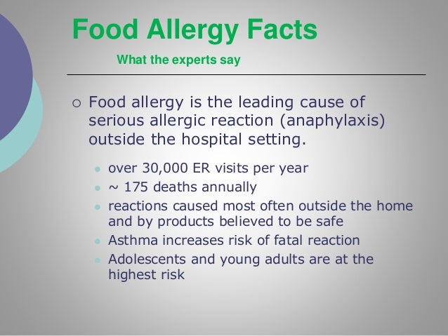 peanut allergy reaction adults