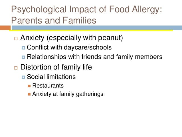 Treatment Of Food Allergy A Five Year Experience