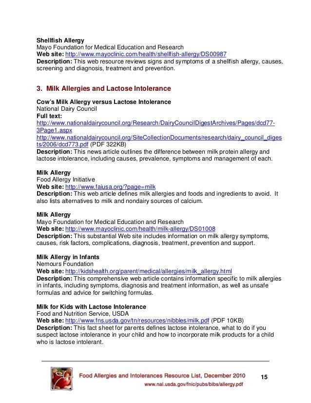 Symptoms of shellfish allergies