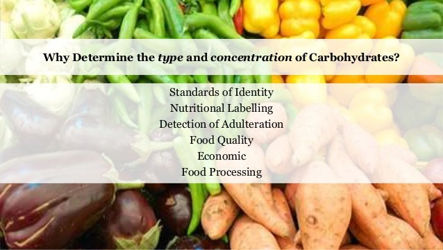 an introduction to the analysis of carbohydrates Carbohydrates consists of a large portion of the algal biomass constituents and is   /technical-standards/introduction/ determination of total carbohydrates in.