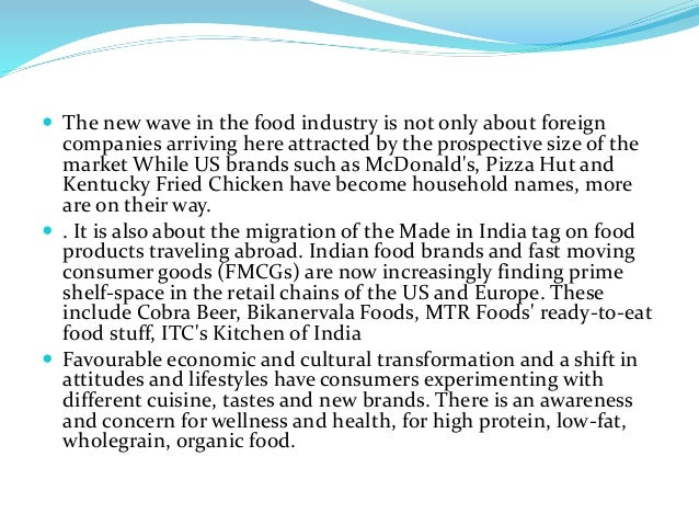 beverage industry india The food and beverage industry has always operated at the mercy of the  indian  food producer patak discovered their 'new improved' lime.