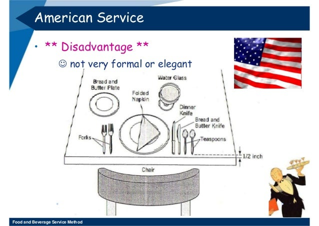 American Service Table setting ...  sc 1 st  SlideShare & Food and beverage international servic
