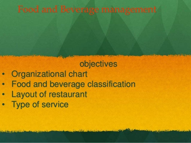 food and beverage 3 essay Food and beverage service department is one of the main service oriented and crucial division of the hotel it renders the services of prepared food items, beverages, and tobacco in a hospitable way to the customers as per their demand.