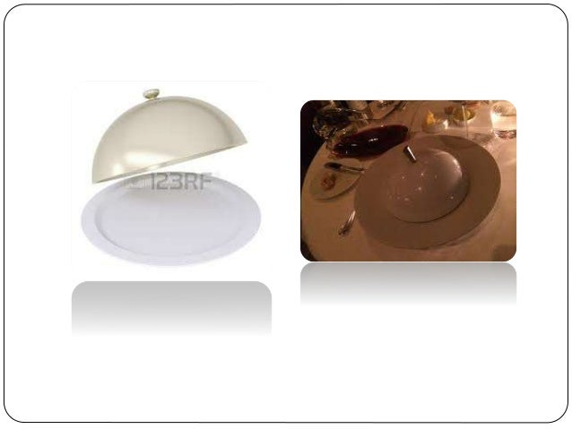 AMERICAN / PLATE SERVICE  The American service is a pre‐plated service, which means that the food is served into the gues...