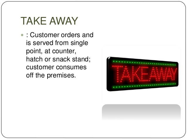HOME DELIVERY  Food delivered to customer's home or place of work, e.g. Pizza home delivery or Meal on wheels etc.