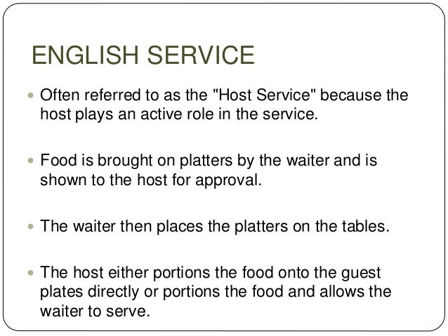 attributes of food and beverage service personnel pdf