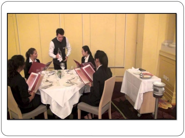 FRENCH SERVICE  It is a very personalized service.  Food is brought from the kitchen in dishes and salvers, which are pl...