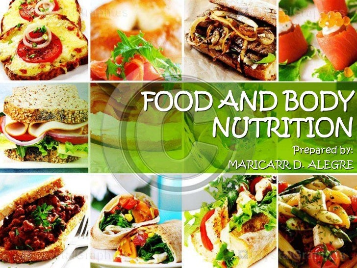 Food and body nutrition for Cuisine 728