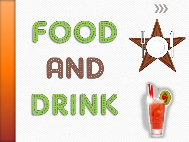 food drinks drink vocabulary slideshare