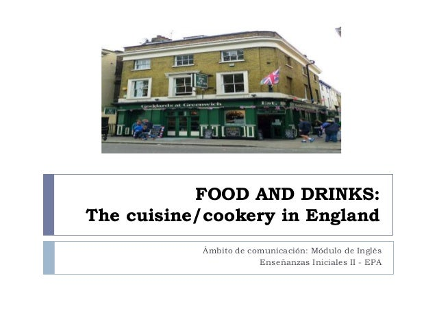 Food And Drink: Food And Drinks: Typical English Meal