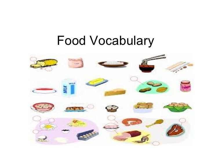 Food and drink vocabulary for Cuisine vocabulary