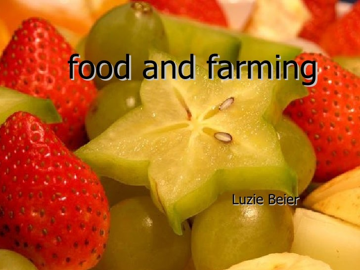 Food and Farming Luzie Beier food and farming Luzie   Beier
