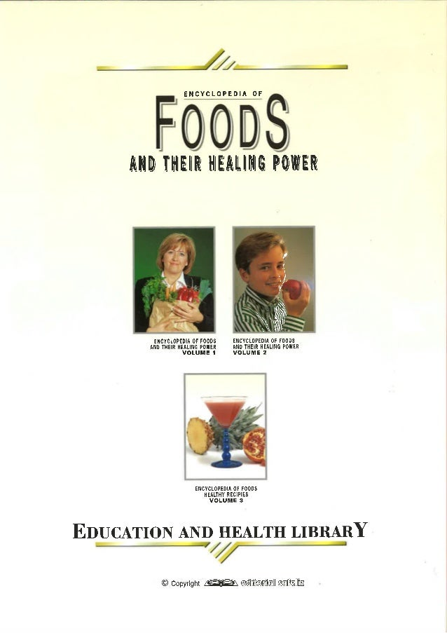 Food and healing power encyclopedia