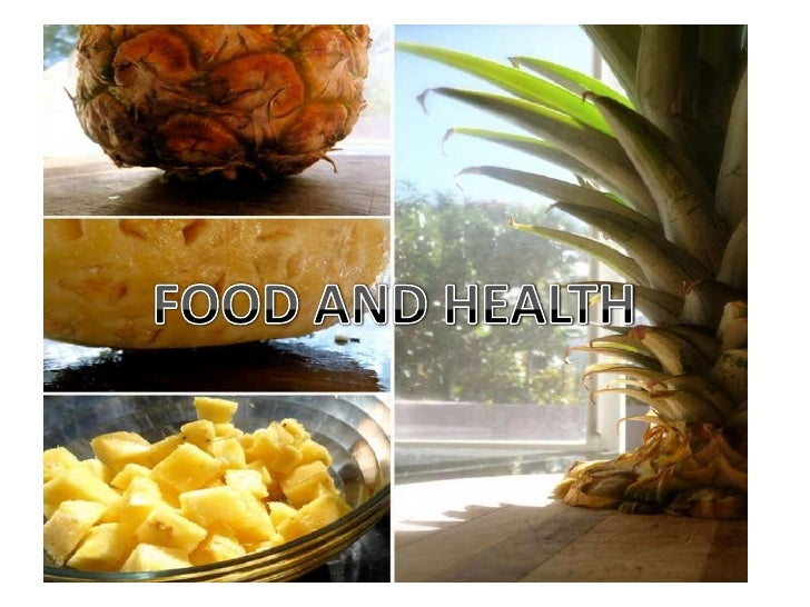 FOOD AND HEALTH<br />