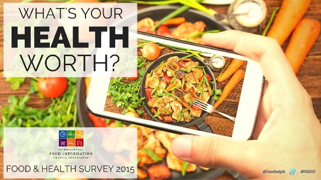 International Food Information Council Foundation Food and Health Survey 2015 IFIC Foundation Mission: To effectively comm...