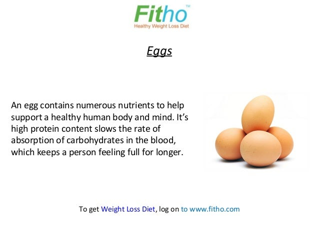 EggsAn egg contains numerous nutrients to helpsupport a healthy human body and mind. It'shigh protein content slows the ra...