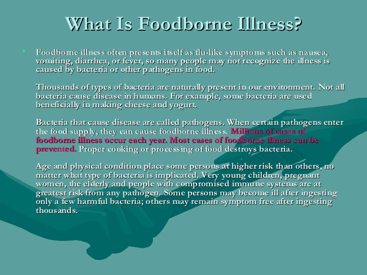 the emerging waterborne pathogens in the preparation of the food Diarrhoeal disease in children due to contaminated food  c emerging pathogens  in foodborne disease when it is used in the preparation of food.