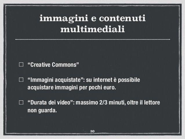 """immagini e contenuti multimediali """"Creative Commons"""" """"Immagini acquistate"""": su internet è possibile acquistare immagini pe..."""