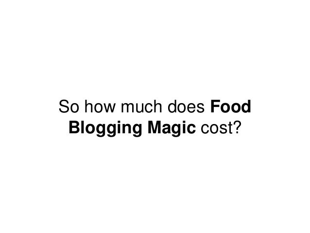 So how much does Food Blogging Magic cost?