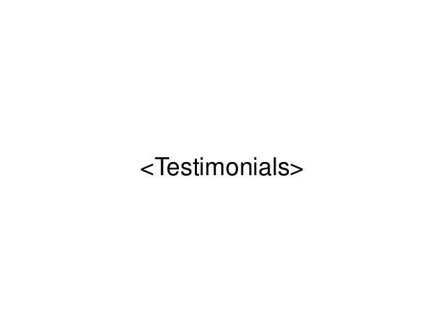 <Testimonials>
