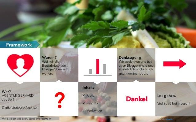 food blogs in deutschland studie. Black Bedroom Furniture Sets. Home Design Ideas