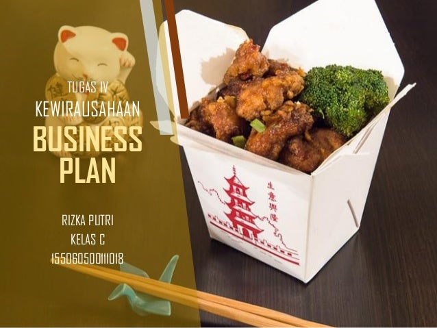 Food Bussines Plan Rice Box Complete