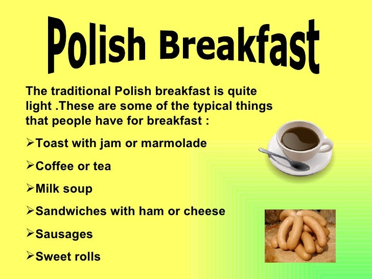 What Foods Do Poland Eat