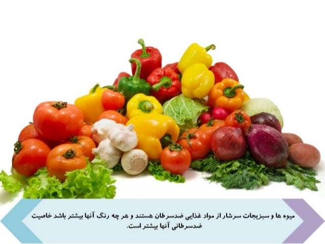 غذاهاي ضدسرطان Slide 3