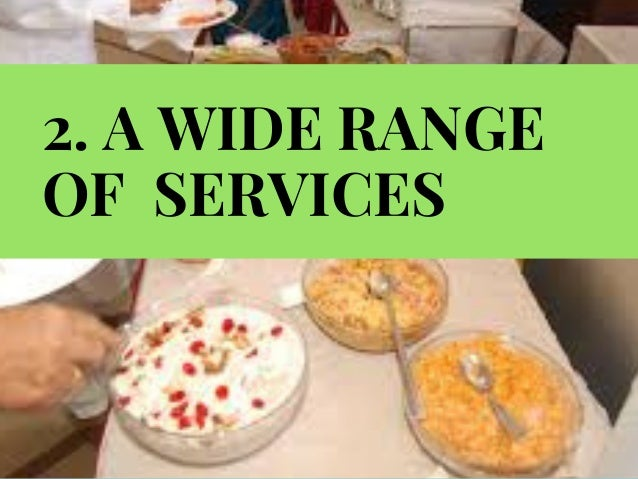 Food catering services business