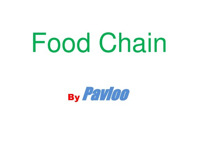 Food ChainBy Pavloo