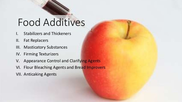 food additive Links to information about food additives and food additive petitions.