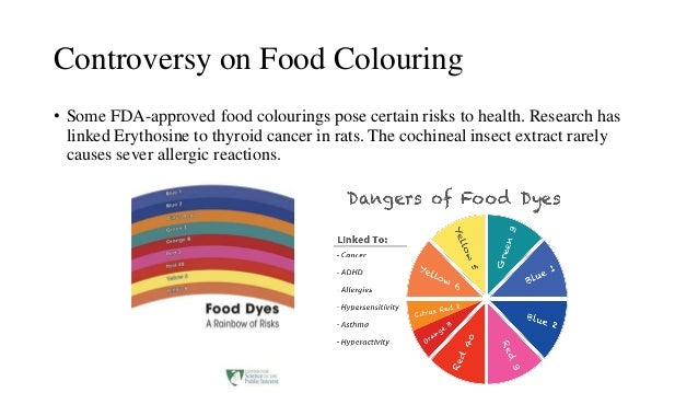 Benefits Of Natural Food Dyes