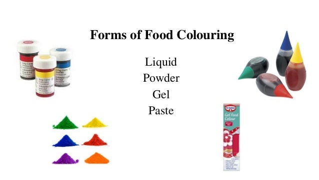 Food Coloring