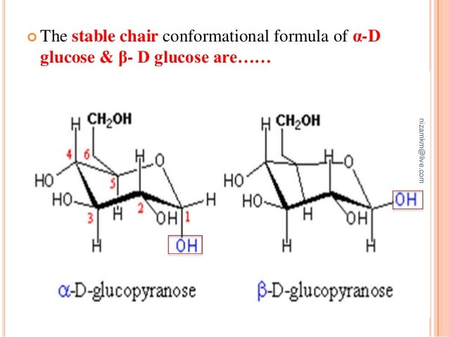D Galactose Chair Chair Conformation Of ...