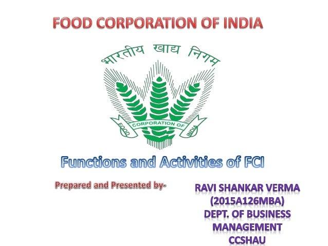Food Corporation Of India Vacancies List