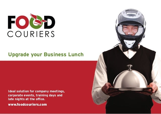Upgrade your Business LunchIdeal solution for company meetings,corporate events, training days andlate nights at the offic...