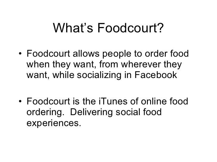 Facebook Foodcourt Slide 2