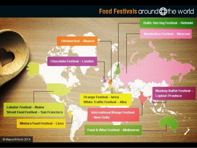Food Festivals Around the World Slide 3