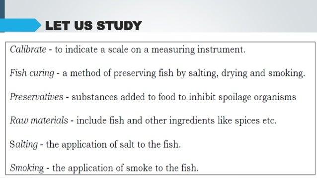 Food Fish Processing Tools Equipment