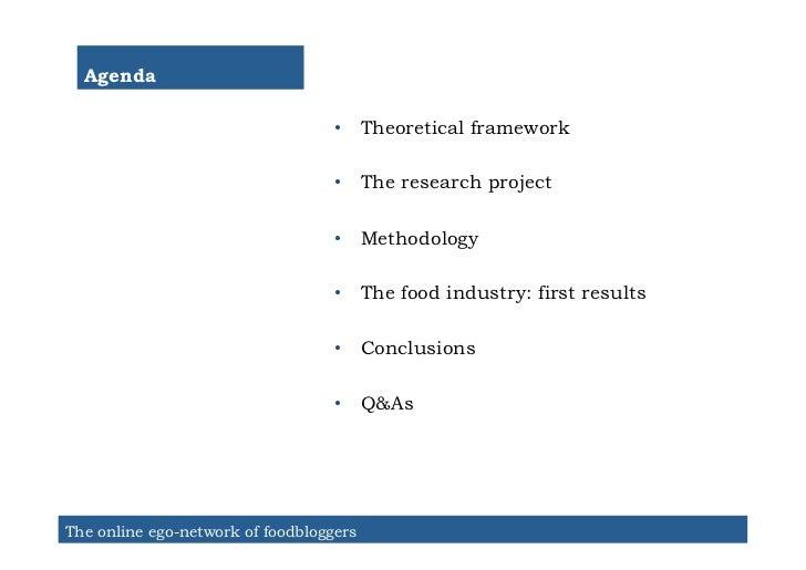 Agenda                                   • Theoretical framework                                   • The research projec...