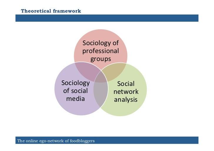 Theoretical framework                                Sociology of                                 professional      ...