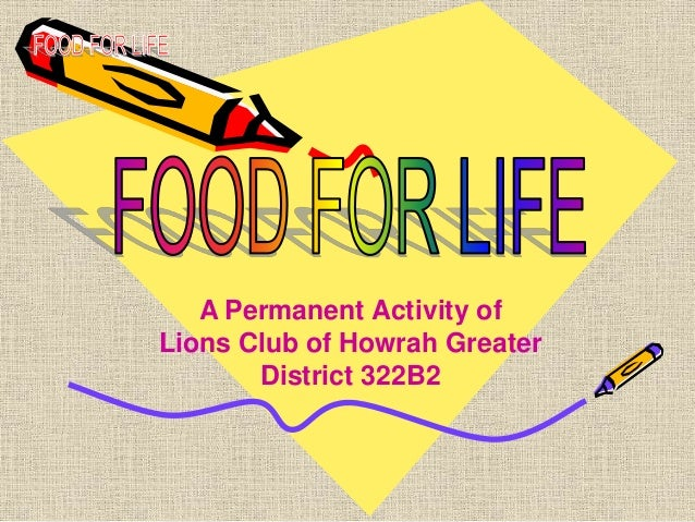 A Permanent Activity of Lions Club of Howrah Greater District 322B2