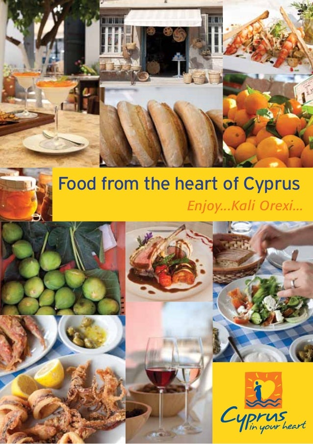 Food from the heart of Cyprus Enjoy...Kali Orexi...
