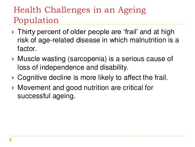 Food & Nutrition for elderly
